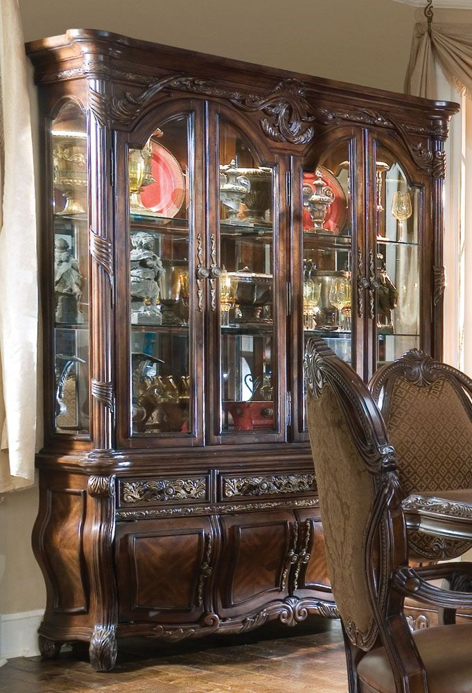 Home Gallery Furniture For China Cabinets Essex Manor With Buffet