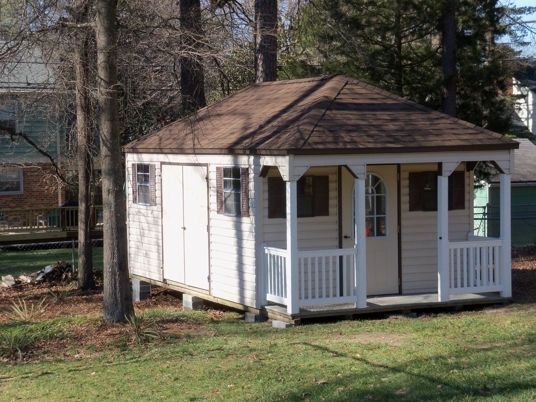 Freestanding backyard building for home office from ...
