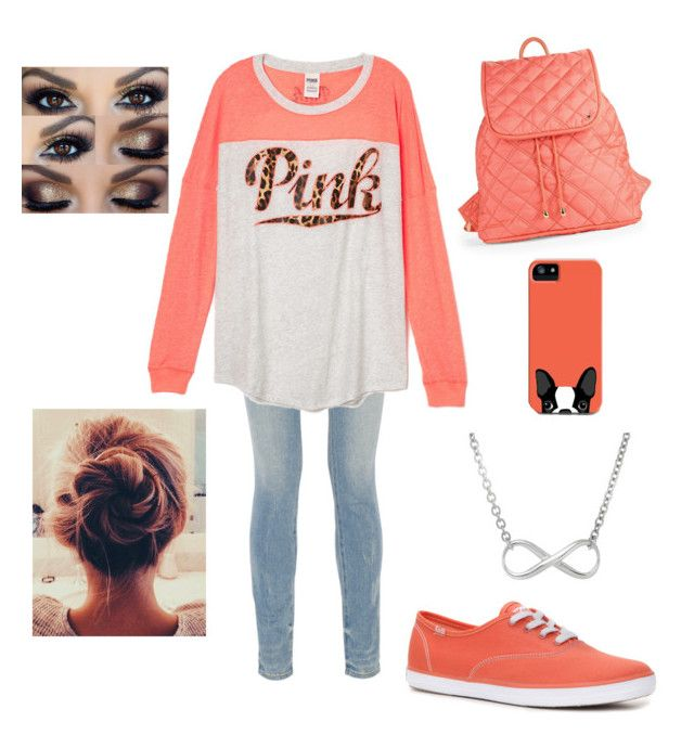 """""""PINK. Fall-school"""" by kendraallen22 ❤ liked on Polyvore featuring Alexander Wang and LeSportsac"""
