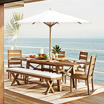 outdoor furniture west elm. Jardine Expandable Dining Table #westelm Outdoor Furniture West Elm
