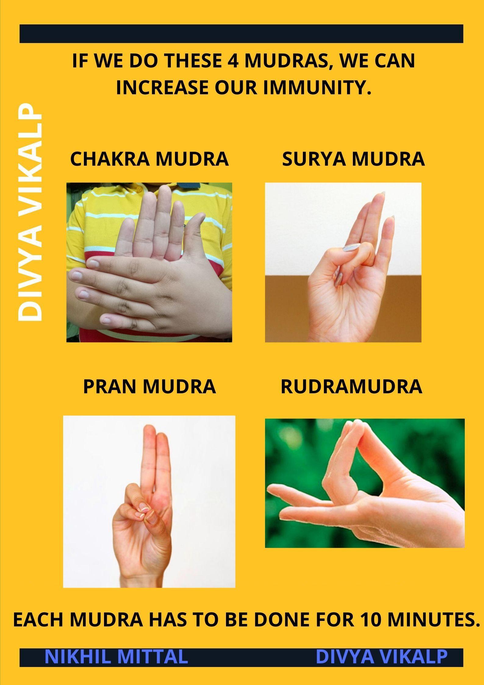Yoga Asanas Mudras