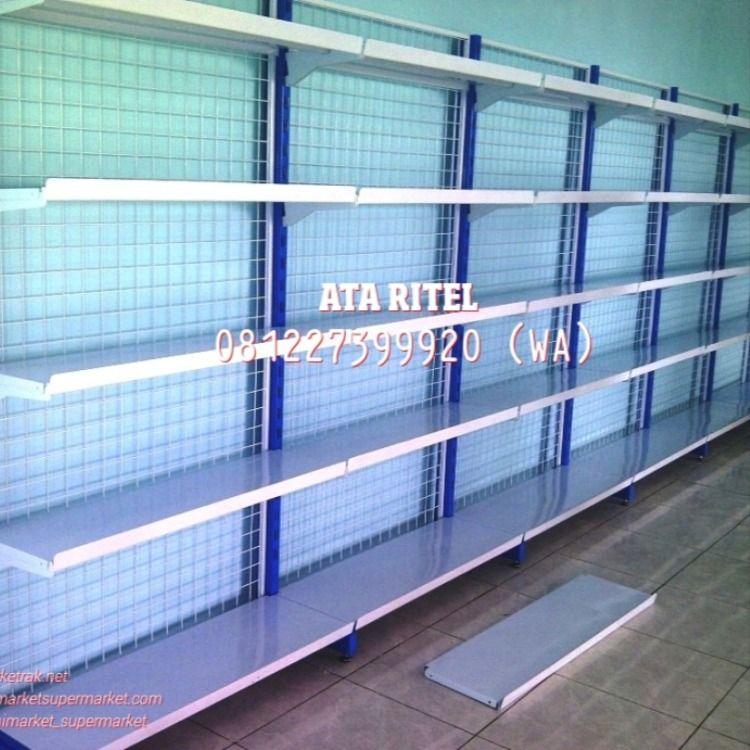 Rak Sembako Rak Toko Jual Rak Perlengkapan Swalayan Rak Minimarket Rak Supermarket Rak Besi Madiun Jepara Blitar