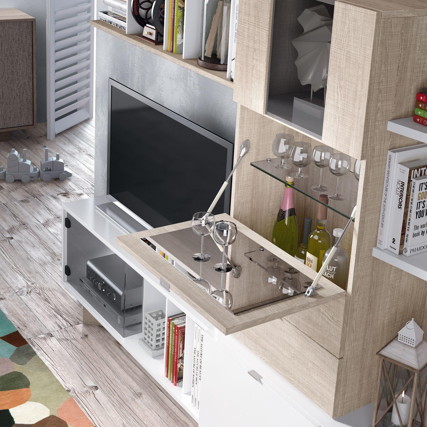 Ojo El Mueble Bar Vuelve Con M S Fuerza Que Nunca Tanto En  # Muebles Rusticos Con Toque Moderno