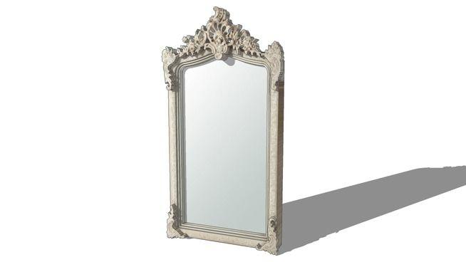 visualiza o grande do modelo 3d de miroir conservatoire. Black Bedroom Furniture Sets. Home Design Ideas