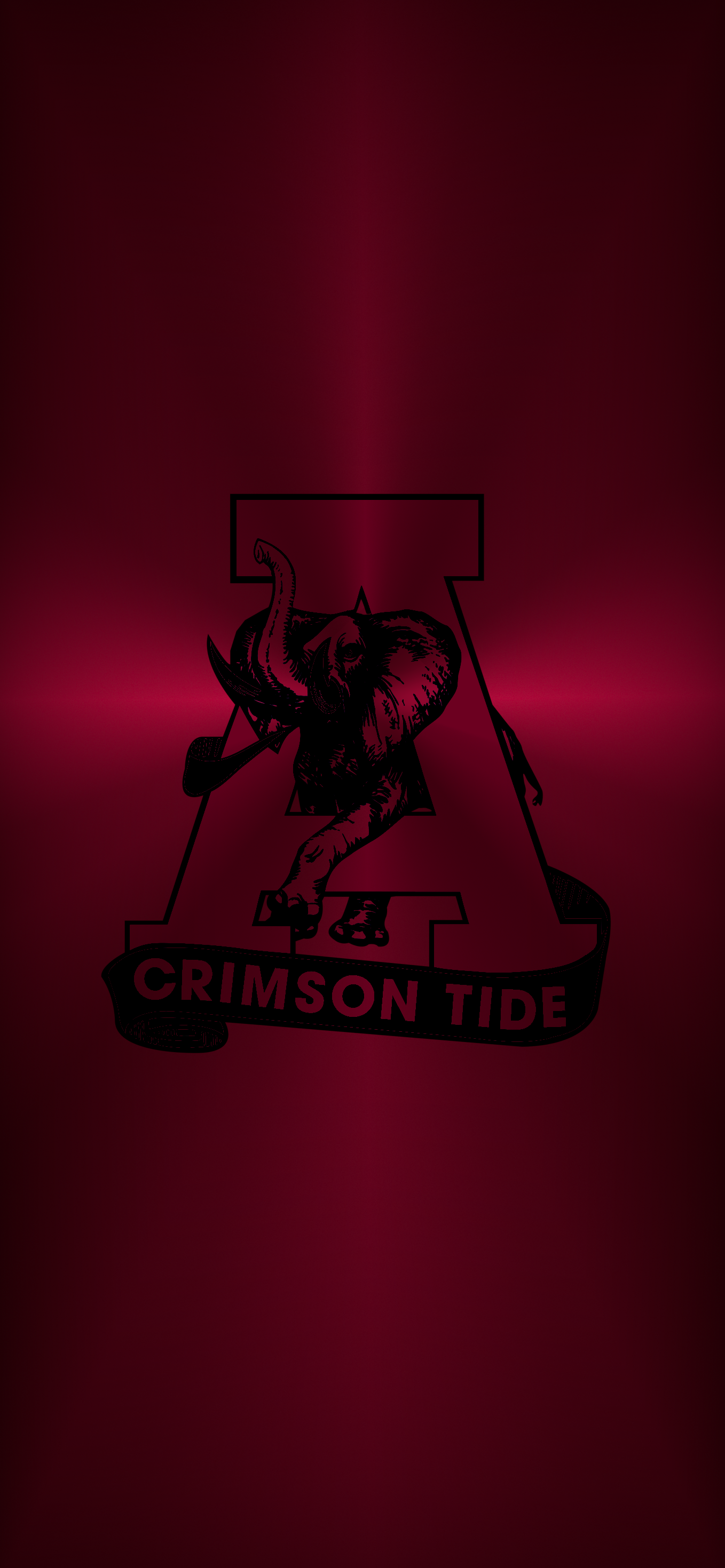 Bama Logo 11 Metal Alabama Crimson Tide Logo Alabama Crimson Tide Football Crimson Tide Football