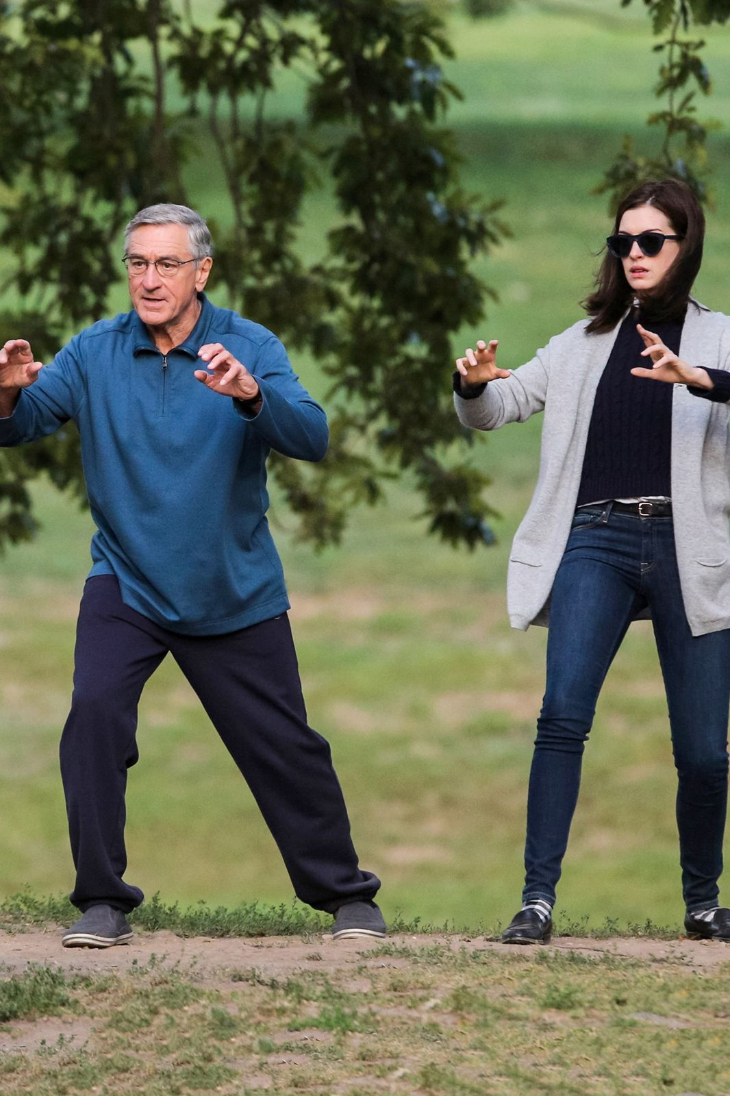 The Intern Written and directed by Nancy Meyers — see: It's Complicated, Something's Gotta Give, The Holiday — The Intern stars Anne Hathaway as the founder of a fashion start-up who hires a 70-year-old widower (Robert De Niro) as her intern. Consider our tickets already pre-ordered. Hits theaters on September 25, 2015.