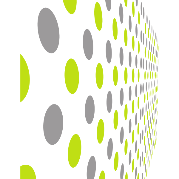 Pattern With Grey And Green Dots Green Dot Dots Pattern