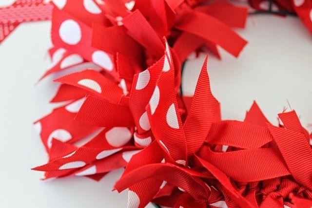 Photo of Ribbon Wreath {tutorial}