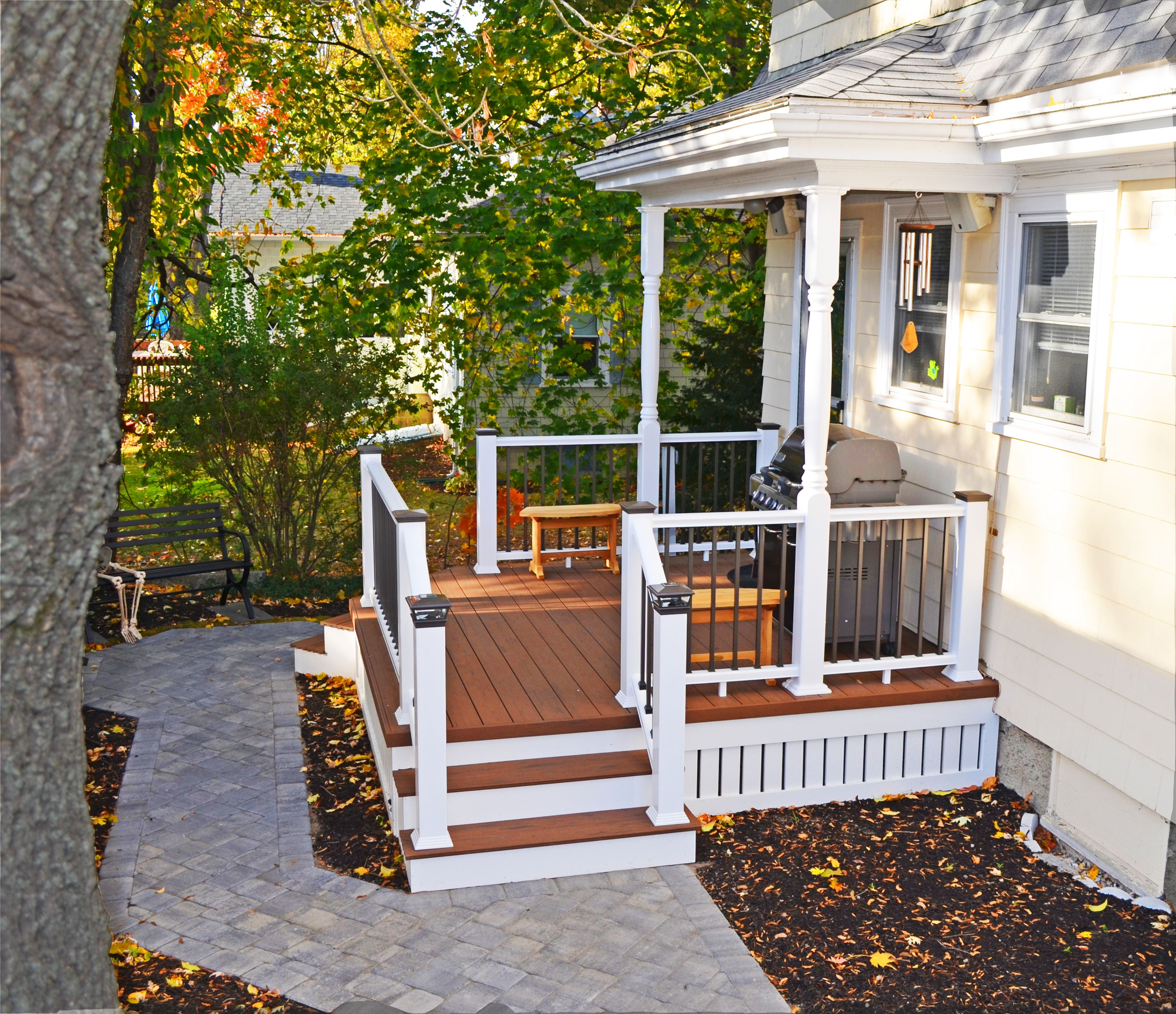 Found On Bing From Boston Decks And Porches Com Front Porch Design Side Porch Porch Design