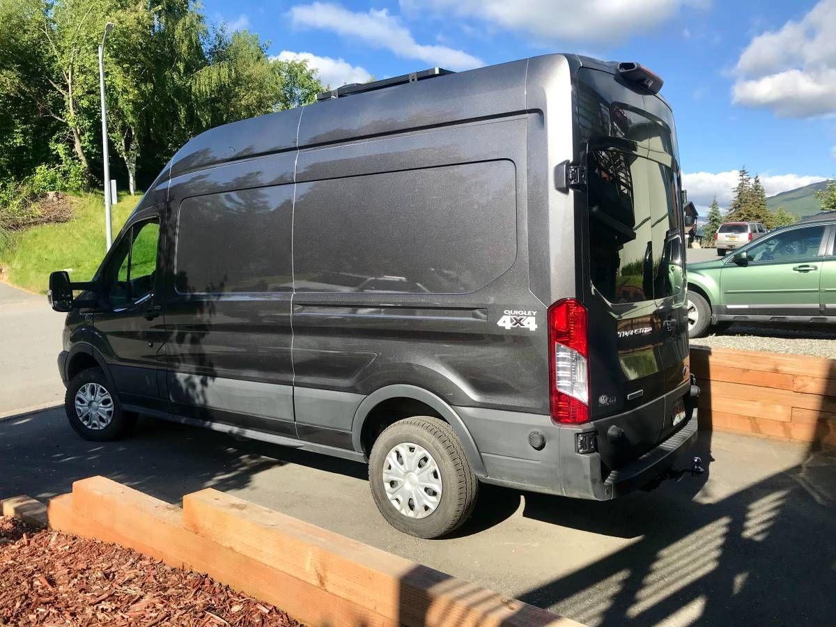4x4 quigley diesel transit camper van/ conversion van ...