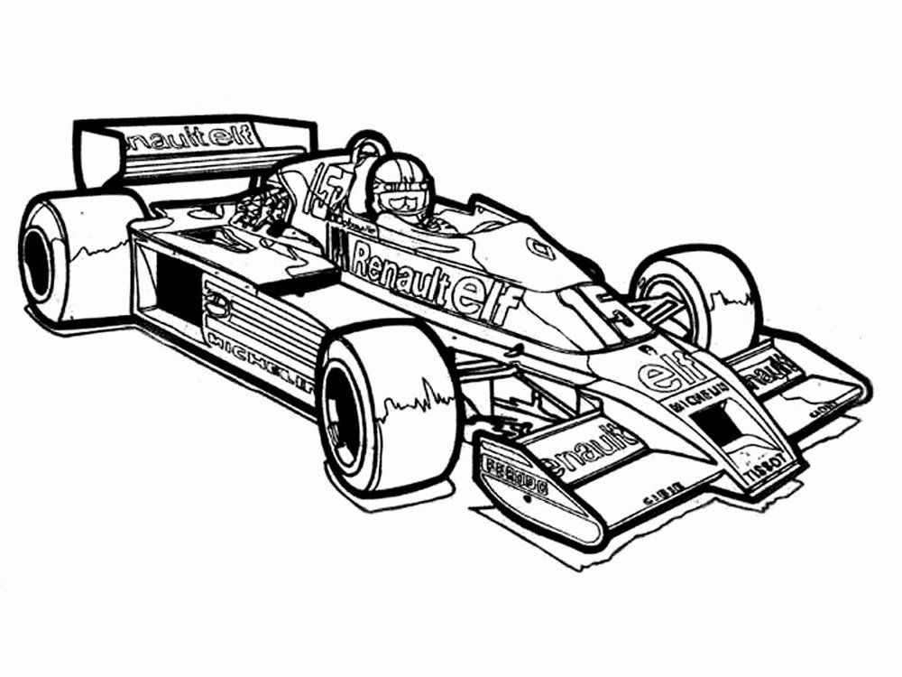 Printable Race Cars Coloring Pages Awesome Racing Cars Coloring Pages To And Print For Free Cars Coloring Pages Race Car Coloring Pages Sports Coloring Pages