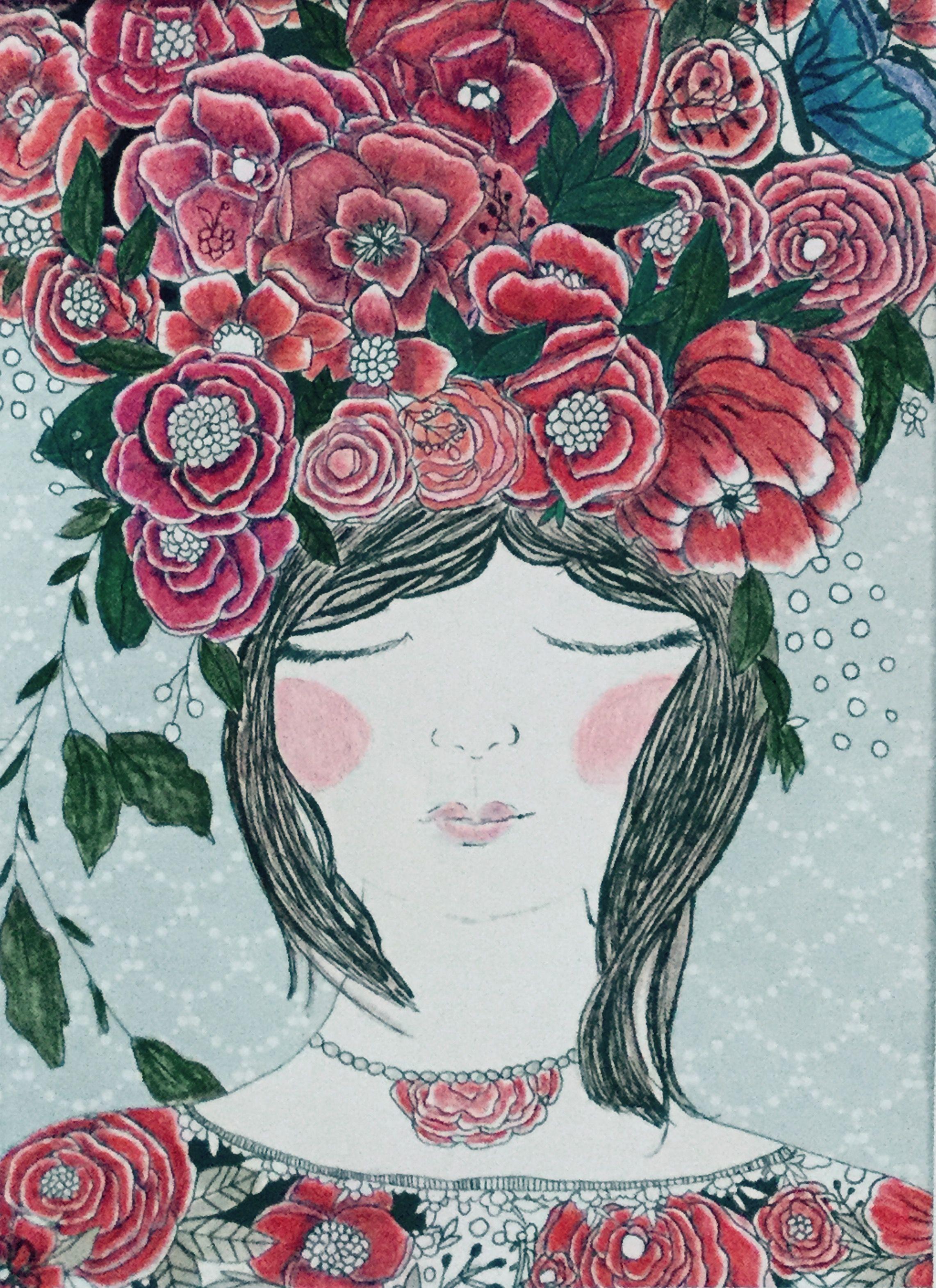 Bari J. // Coloring Book: Make Something Beautiful | Coloring Pages ...