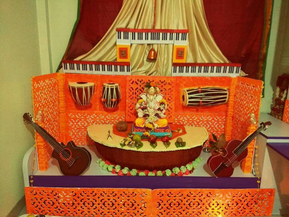 Diy Mandir Decoration