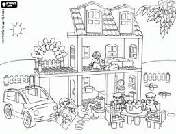 coloriage maison playmobil recherche google playmobil. Black Bedroom Furniture Sets. Home Design Ideas