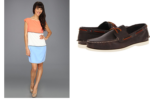 Jessica Simpson, Tommy Hilfiger at 6pm. Free shipping, Ordered my shower dress & Derek's shoes yay!!!