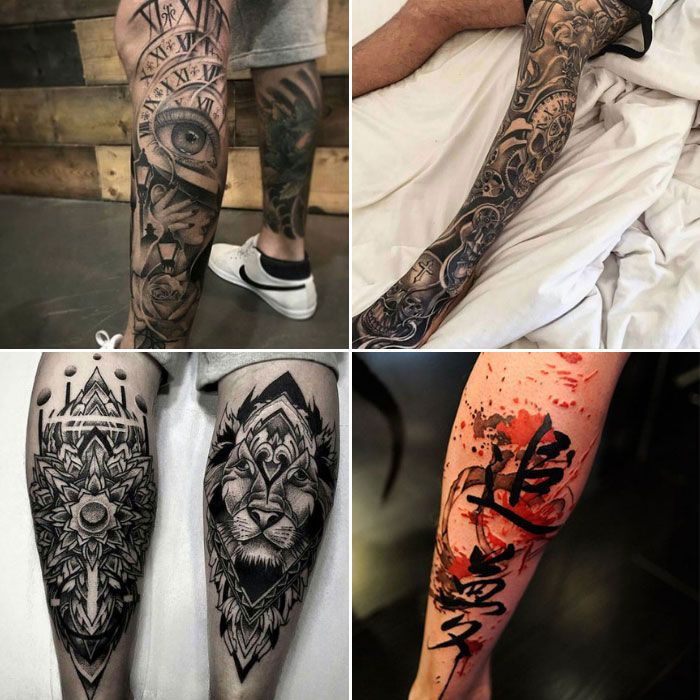 125 Best Leg Tattoos For Men Cool Ideas Designs 2020 Guide Best Leg Tattoos Upper Leg Tattoos Leg Tattoo Men