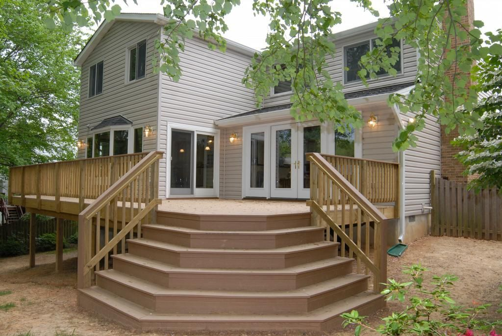 Building Deck Stairs is a step by step process of how to build deck stairs along with large