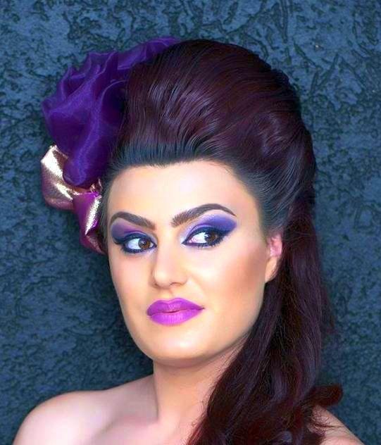 Pin von Zsfia Pink auf Arabic Makeup and hairstyles ...