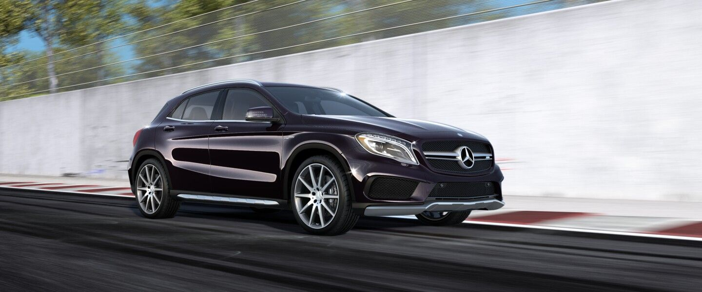 Mercedes Benz Gla 45 Amg Suv Violet Luxury Cars Mercedes Benz