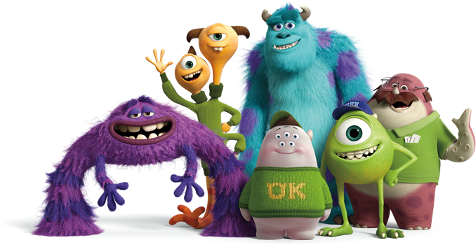 Monsters Generator - Create A Monster | Monster university, Mike and sulley, Animated movies