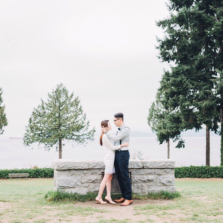 "cool vancouver wedding ""I do."" She said. #vancitybuzz #vancouverisawesome #vancouver by @lovefrankly  #vancouverwedding #vancouverwedding"