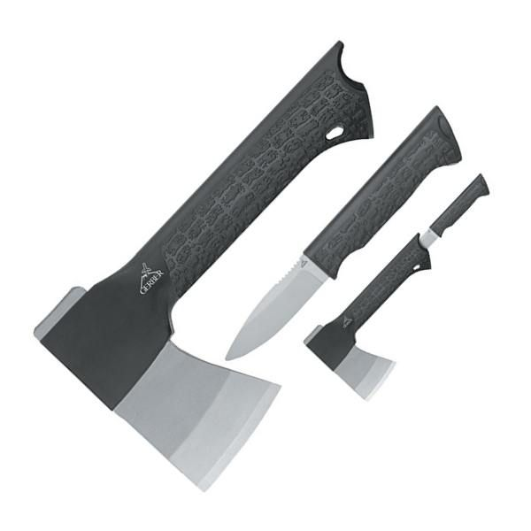 Pretty handy looking. Gator Combo Axe with Knife In Handle, 22-49470