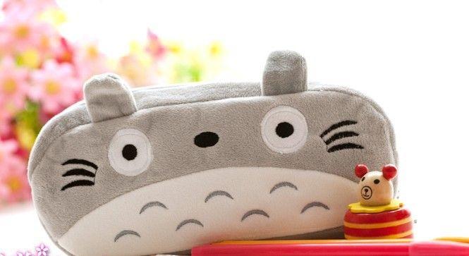 Estuche de peluche de Totoro - bumbusu