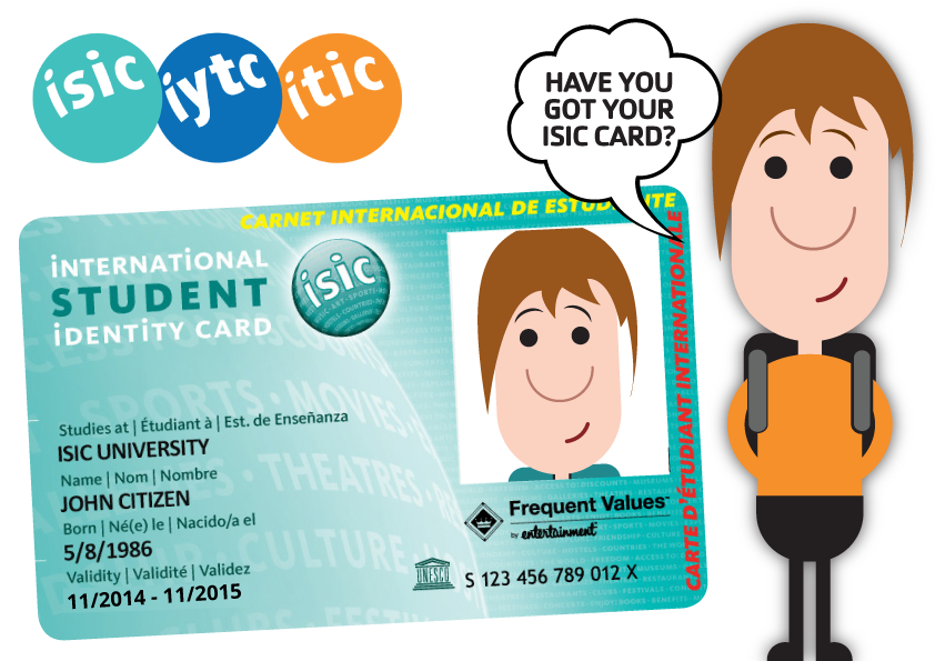For over 50 years, ISIC card holders have been members of a truly ...
