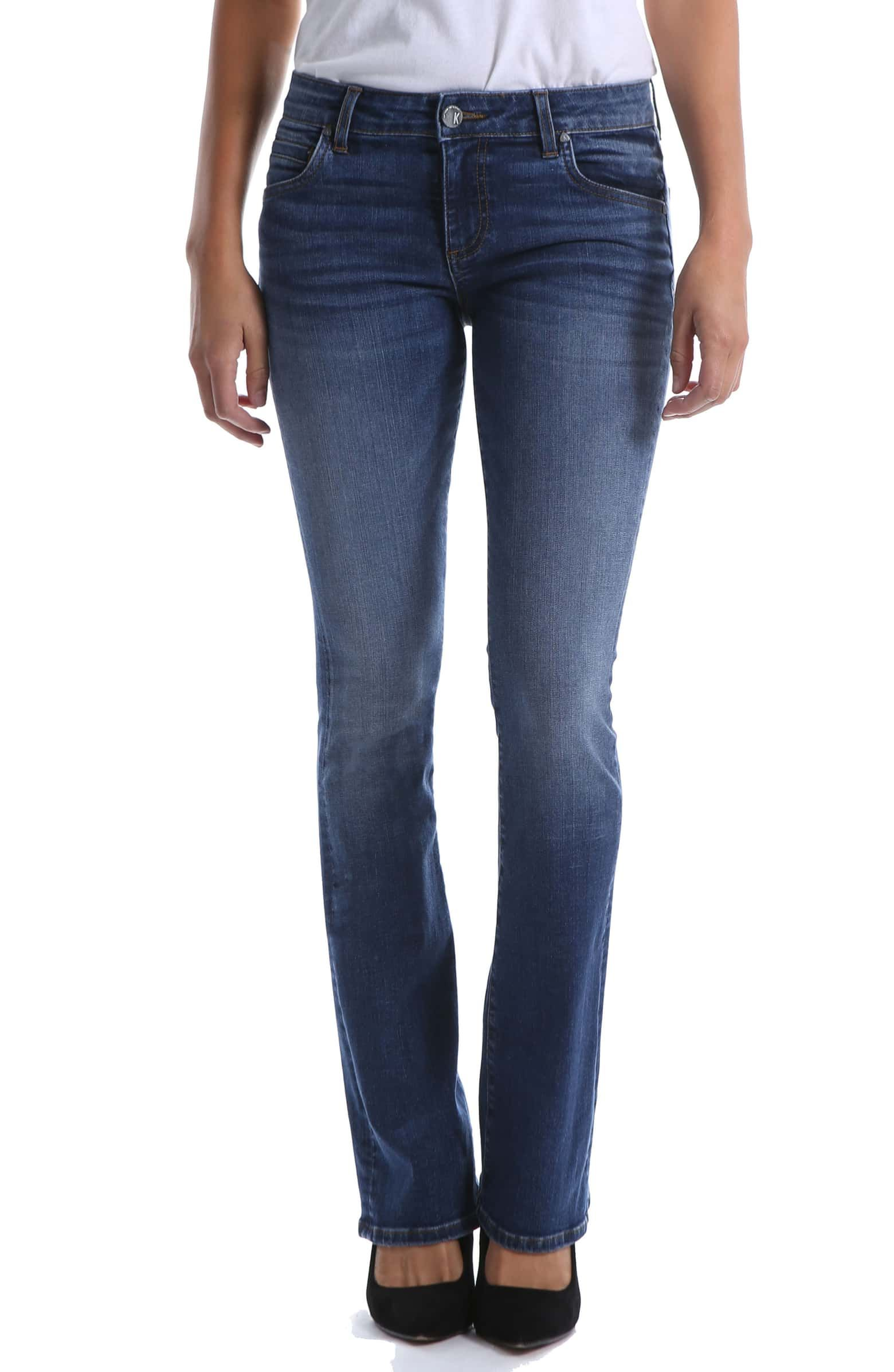 Kut From The Kloth Natalie Flare Jeans Fellowship With Images Bootleg Jeans Flare Jeans Nordstrom Jeans