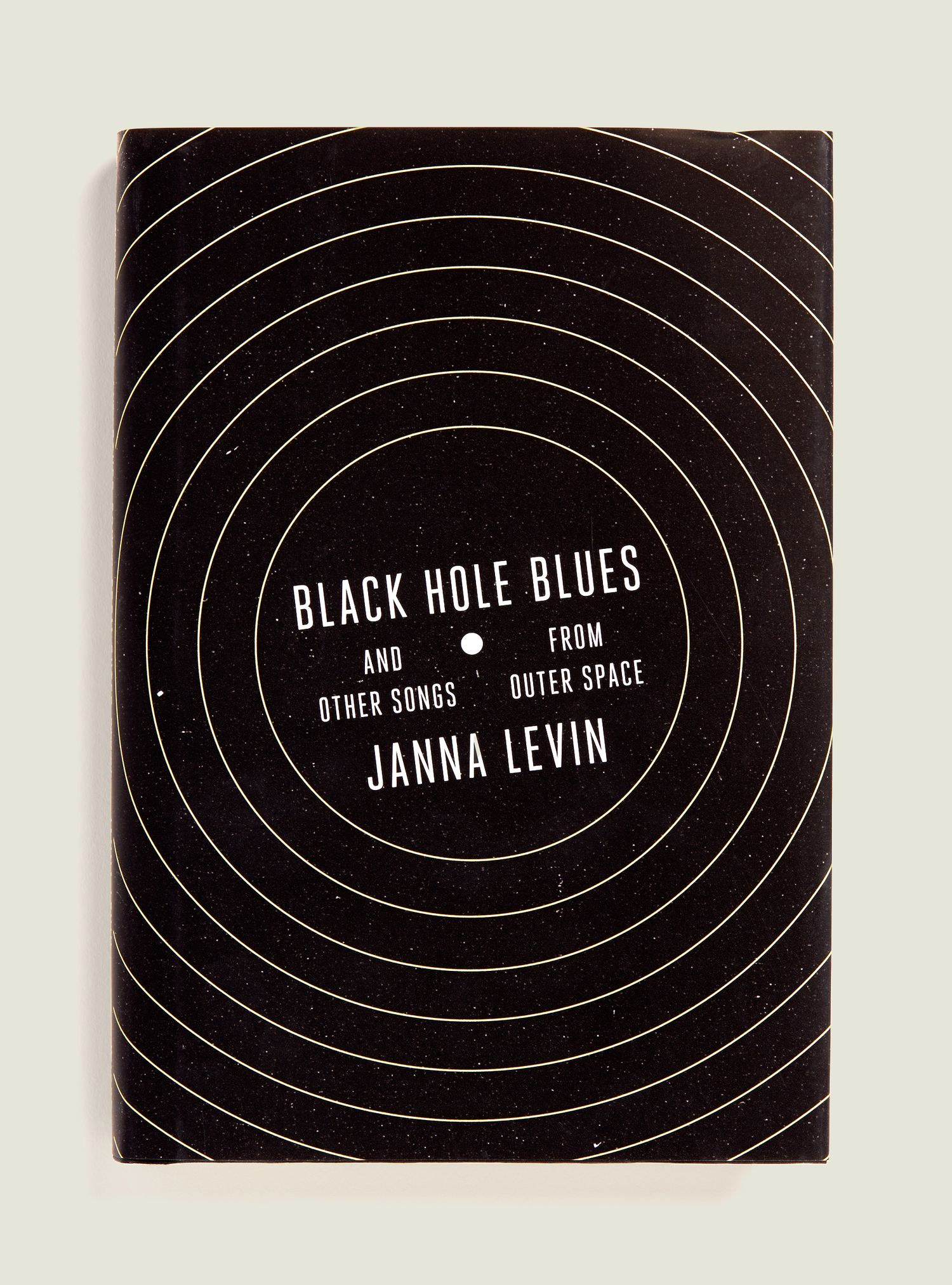Black Hole Blues, book cover design by Janet Hansen