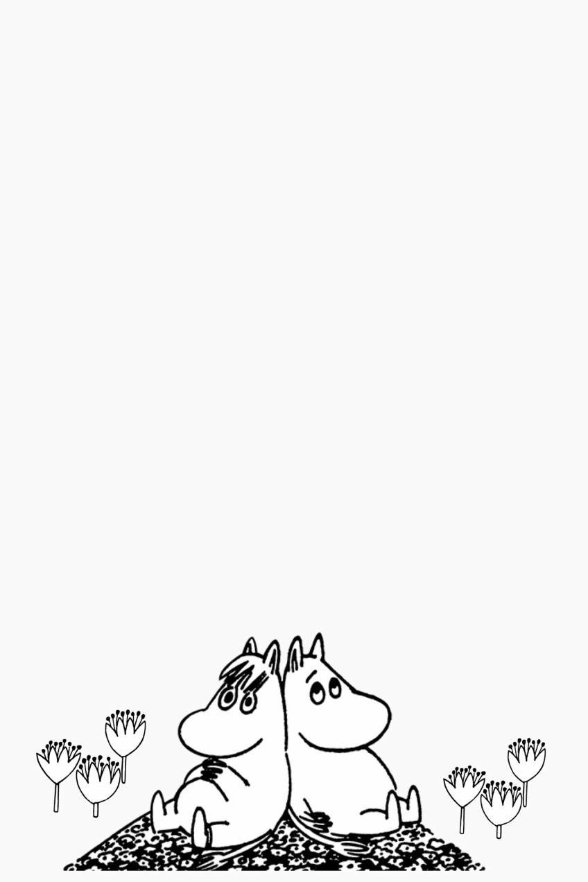 ムーミン 壁紙 待ち受け 完全無料画像検索のプリ画像 Tove Jansson Moomin Kawaii Planet