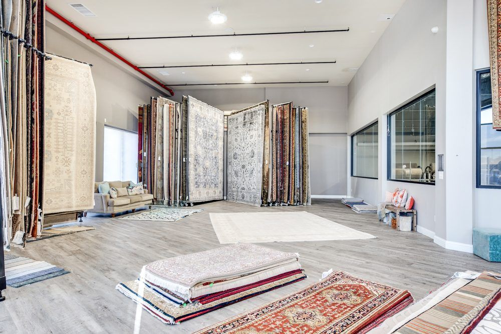 Carpet Time Nyc Second Floor Area Rug Showroom Floor Area Rugs Showroom Flooring Projects