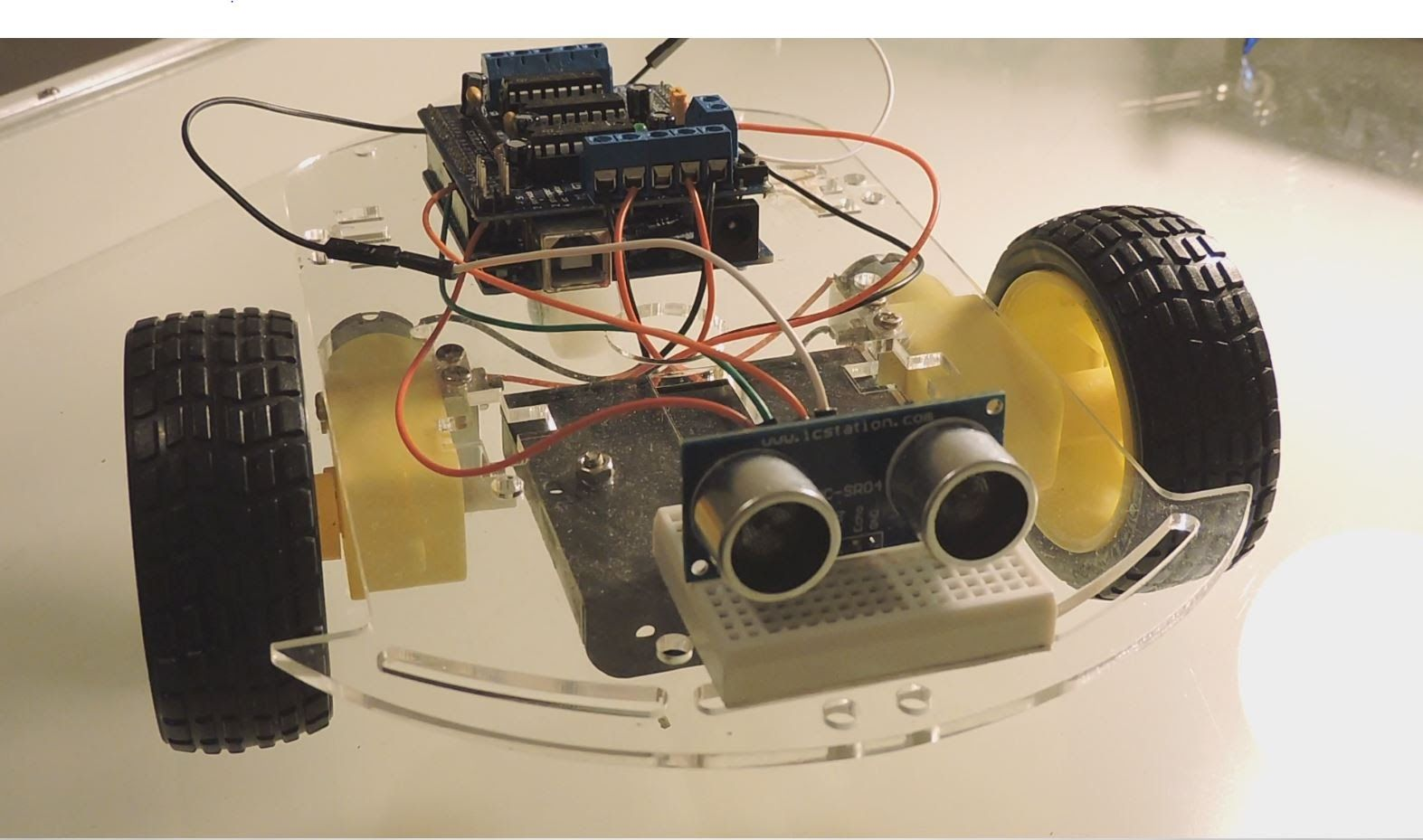 Arduino How To Build An Obstacle Avoiding Robot