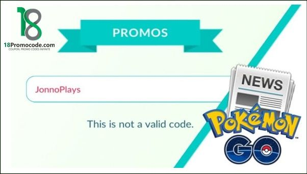 Pokemon Go Promo Code Coupons June 2019 Promo Codes Promo Codes Coupon Coding