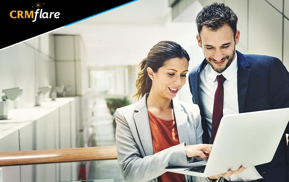 Get the best CRMsolution for your business with CRMflare