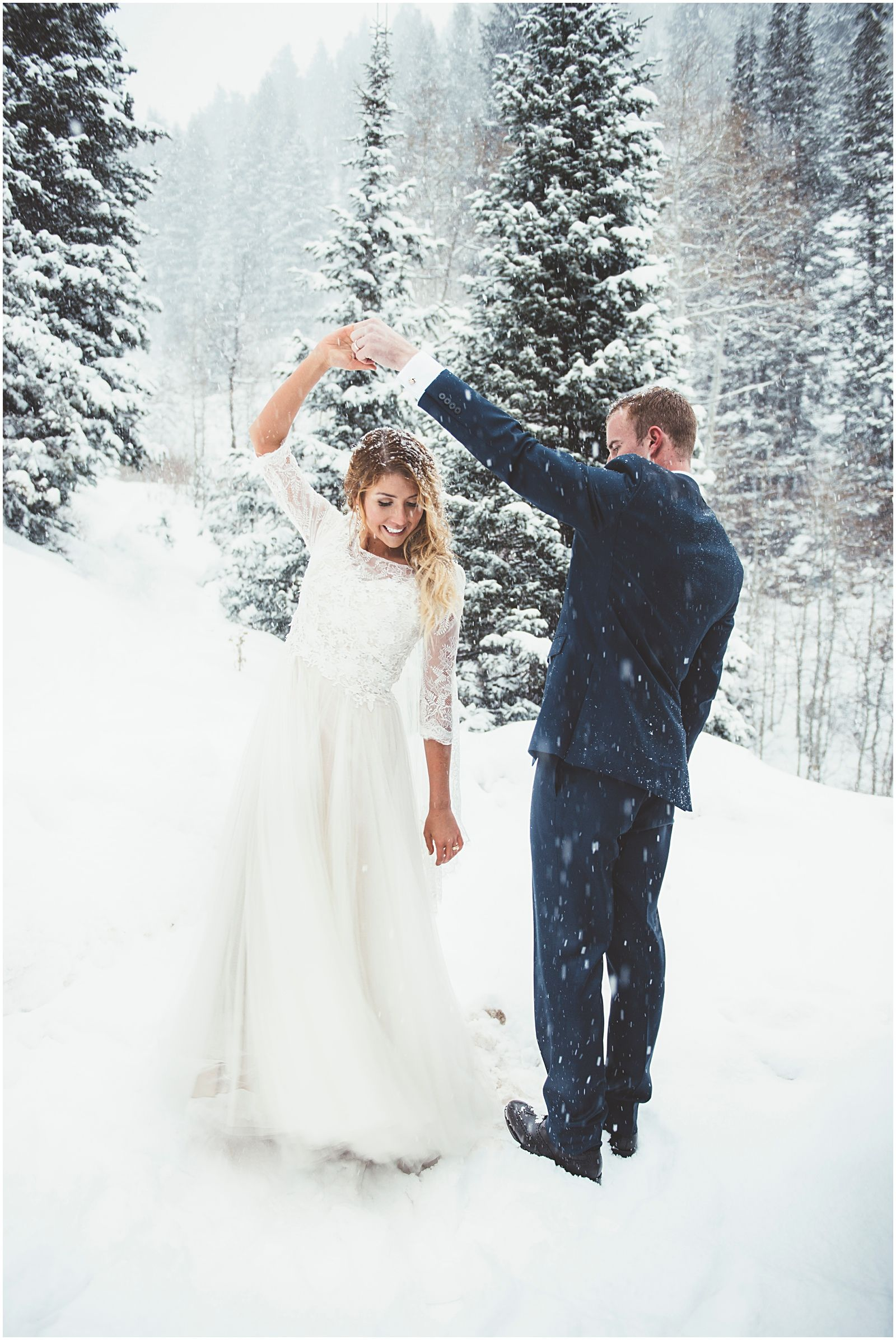 Photo of Snowfall Formal Session | I've got your love to keep me warm