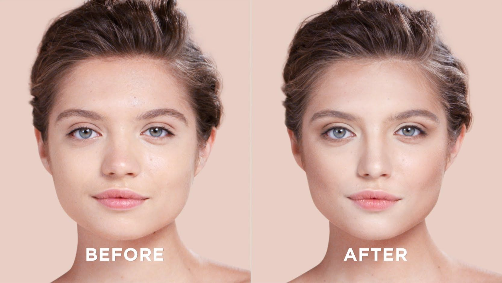 How to video for contouring a square face shape