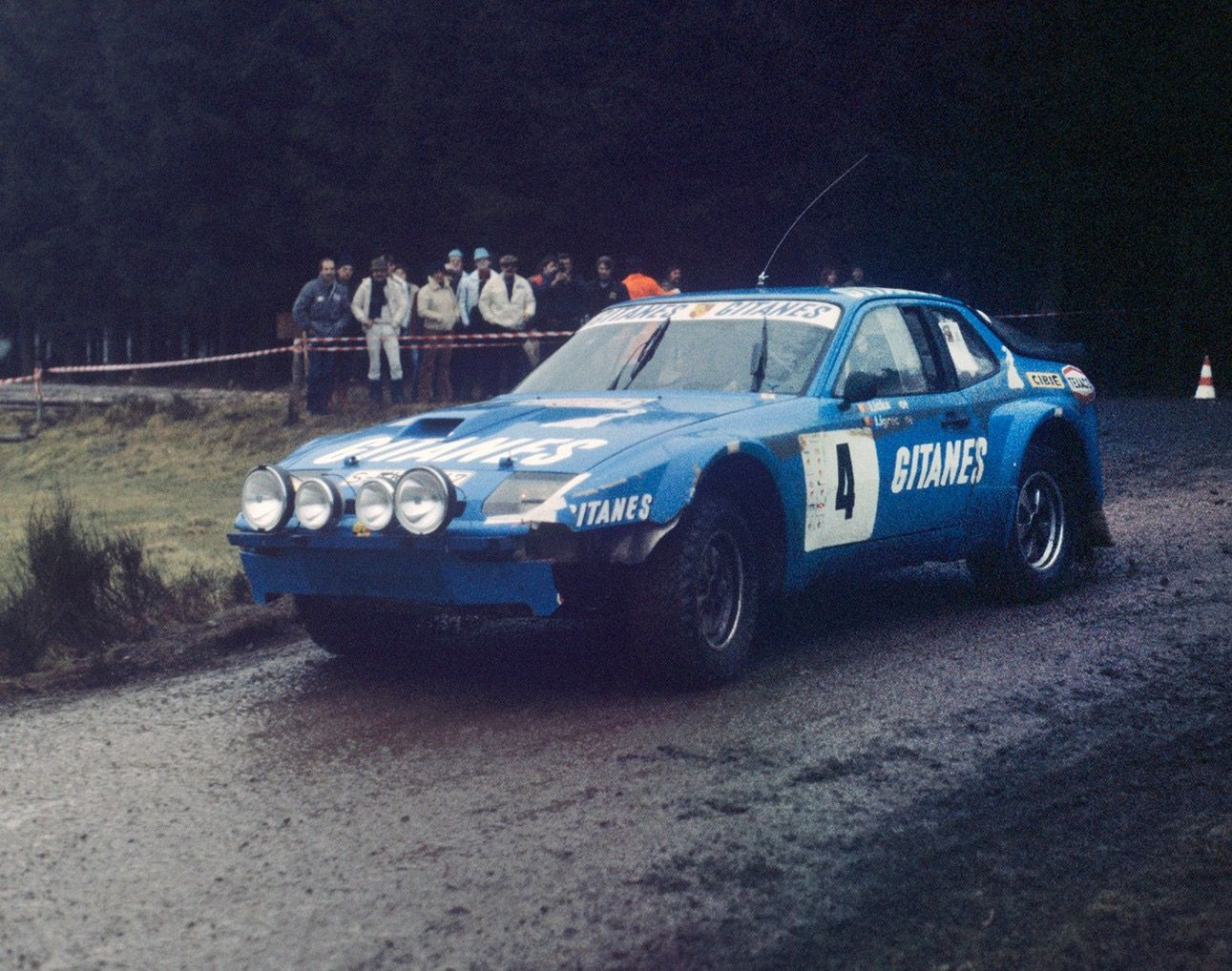 Porsche 924 turbo 931 Boucles de Spa Rallye 1982 Jacky