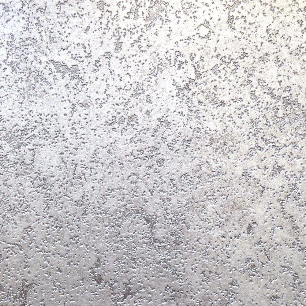 Details About Rustic Metallic Silver Cork Effect Blown Vinyl