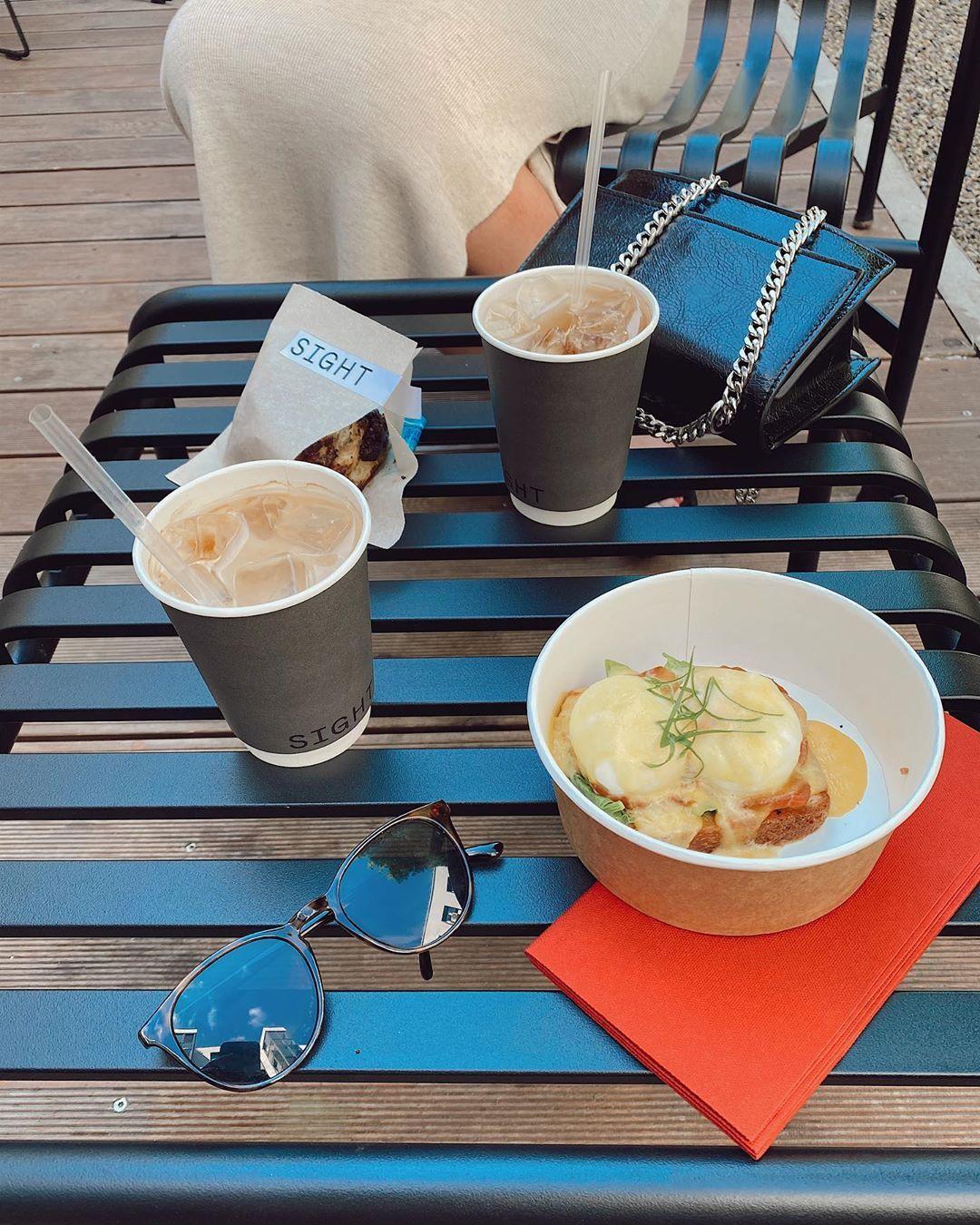 кофе в ресторане фото