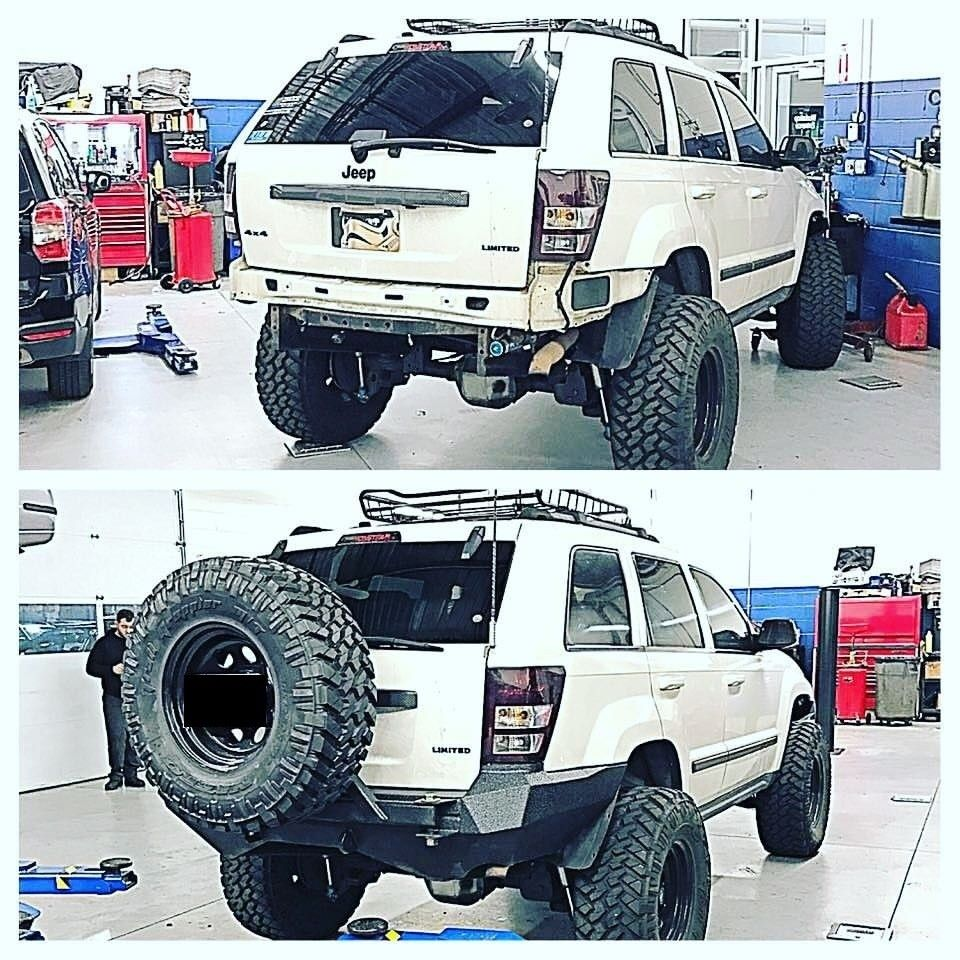 Http Fmjoffroad Com Store Fmj Offroad Jeep Wk Rear Bumper P 75646156 Category 0 Forcescroll True Jeep Wk Jeep Bumpers Jeep Wj