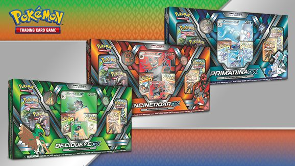 Incineroar GX Premium Collection Box Pokemon TCG