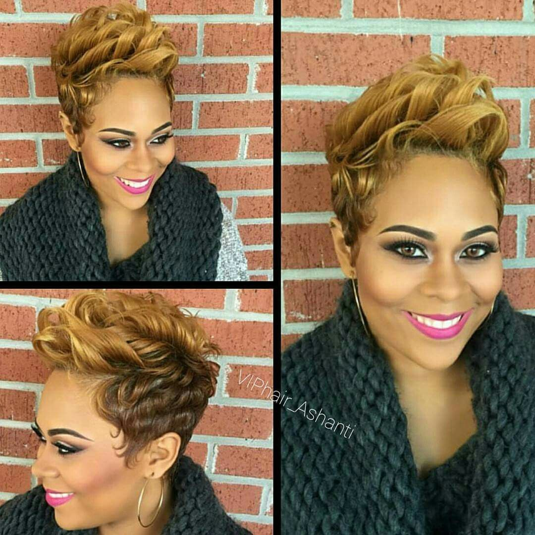 Short black hairstyle pixie hair and beauty pinterest short