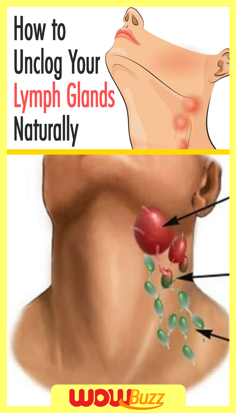 How to Unclog Your Lymph Glands Naturally   Lymph glands, Remedies for  swollen tonsils, Lymph massage