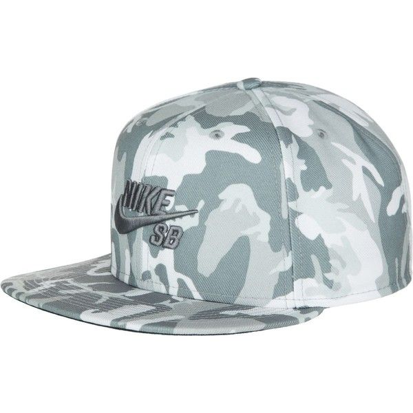 Nike SB Performance Camo Trucker Hat ( 15) ❤ liked on Polyvore featuring  accessories 91236499027