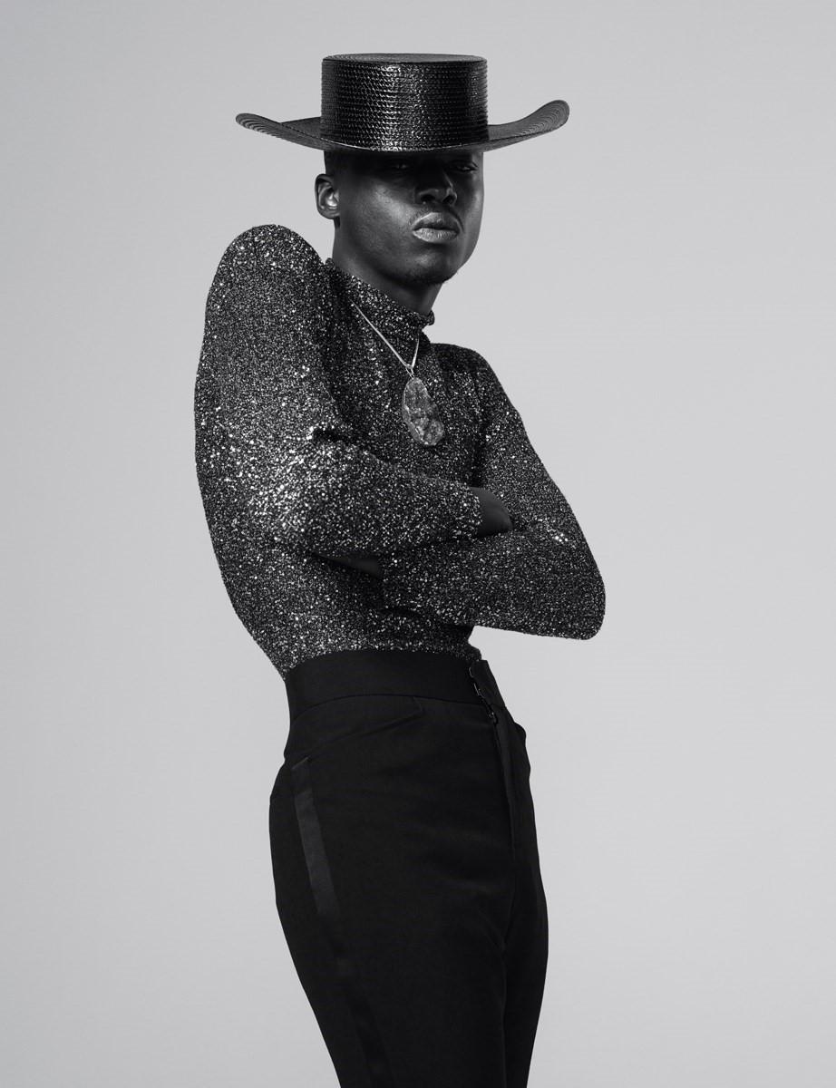 Ashton Sanders Anotherman High Fashion Editorial High Fashion Poses High Fashion Men