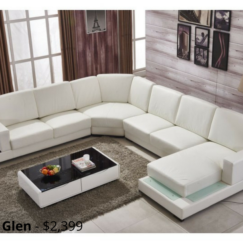 Glen Leather Sofa Modular Lounge This Sofa Challenges Conventional Designs With Its Bold Curved Features A Sofa Design Living Room Sofa Design Leather Sofa