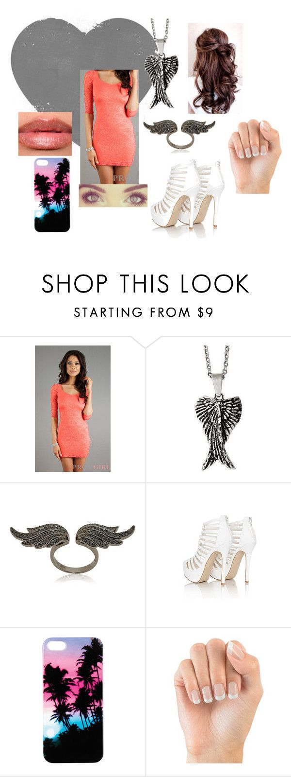 """""""Untitled #8"""" by katxdev ❤ liked on Polyvore featuring Reeds Jewelers, Anita Ko and Missguided"""