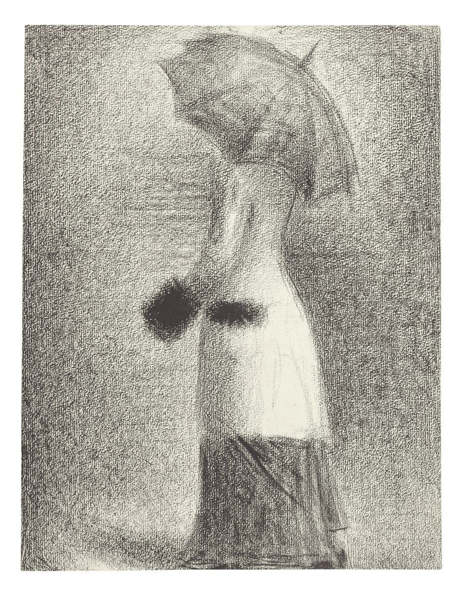 Georges Seurat The Drawings With Images Georges Seurat