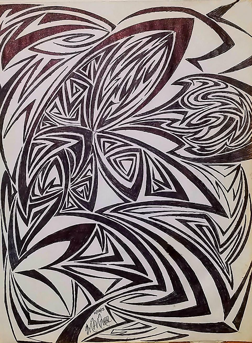 Original Abstract Modern Art Abstract Drawing Abstract Art Modern Drawing Geometrical Art By Marcmcmil Abstract Drawings Modern Drawing Modern Art Abstract